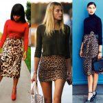 33 Όμορφα outfits με λεοπάρ φούστες!