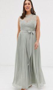 αέρινα αμάνικα φορέματα δαντέλα μεγάλα μεγέθη