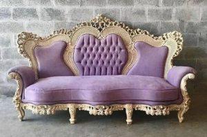 τριθέσιος vintage καναπές