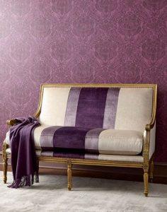 ριγέ πολυτελής καναπές