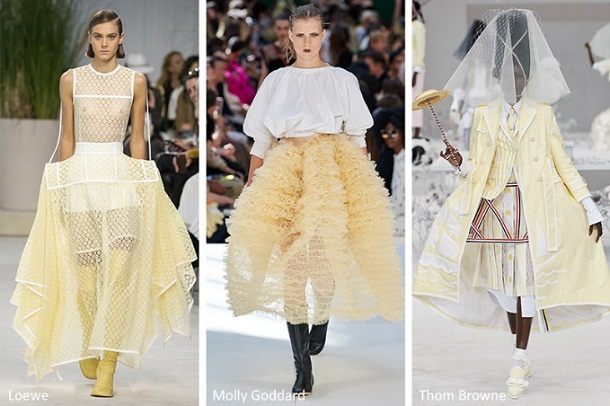 καλοκαιρινές φούστες μόδα trends 2020