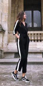 μαύρη φόρμα ολόσωμη