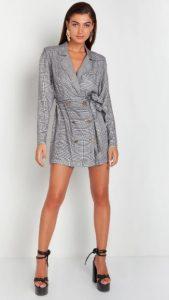 φόρεμα τύπου blazer