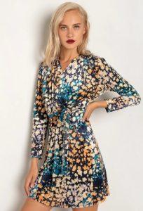 mini φόρεμα με animal print