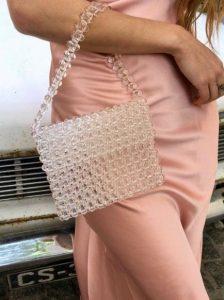 τσάντα με χάντρες