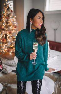 άνετο χριστουγεννιάτικο ντύσιμο