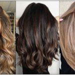balayage χρώμα μαλλιών