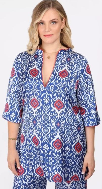 καλοκαιρινές γυναικείες μπλούζες xxl