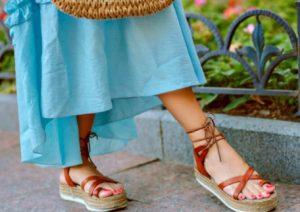 σανδάλια για τις διακοπές το καλοκαίρι