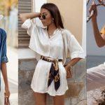 γυναικεία ντυσίματα με πουκάμισο για το καλοκαίρι