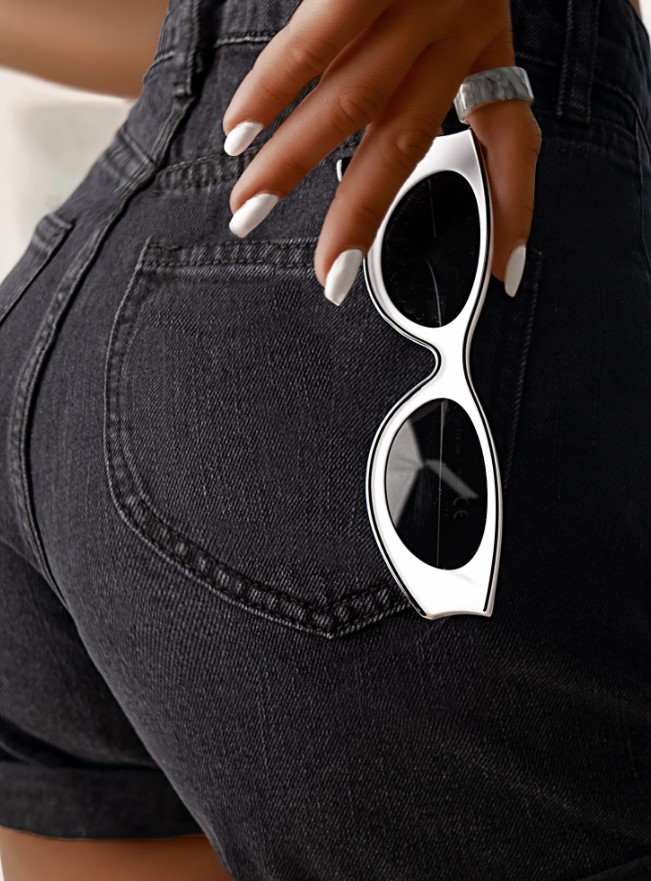 λευκά γυαλιά ηλίου