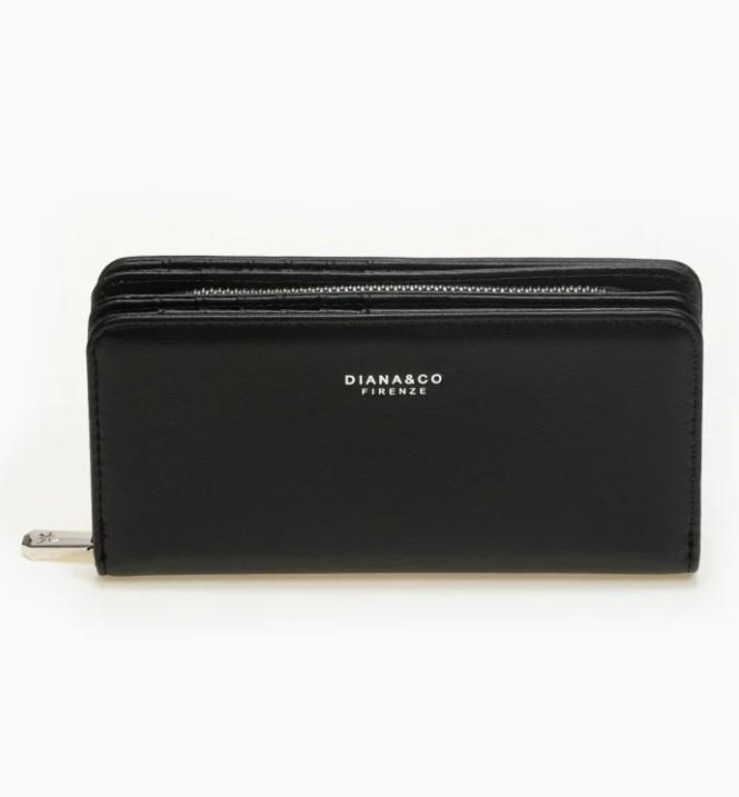 μαύρο γυναικείο πορτοφόλι