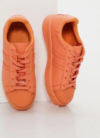 πορτοκαλί sneakers