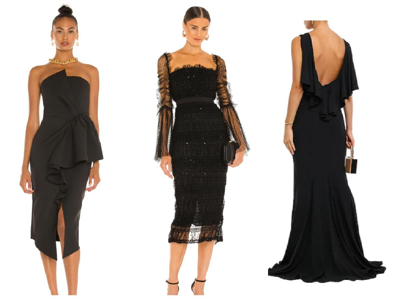 μαύρα φορέματα