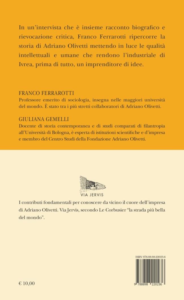 Quarta – Un imprenditore di idee – Franco Ferrarotti
