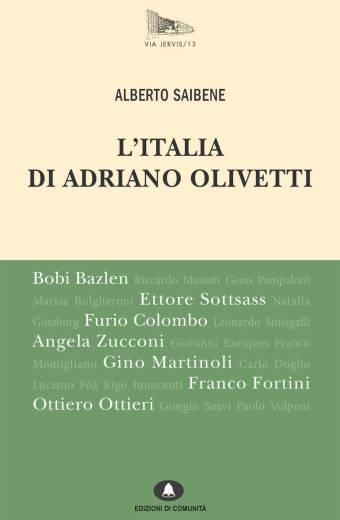 L'Italia di Adriano Olivetti – Alberto Saibene