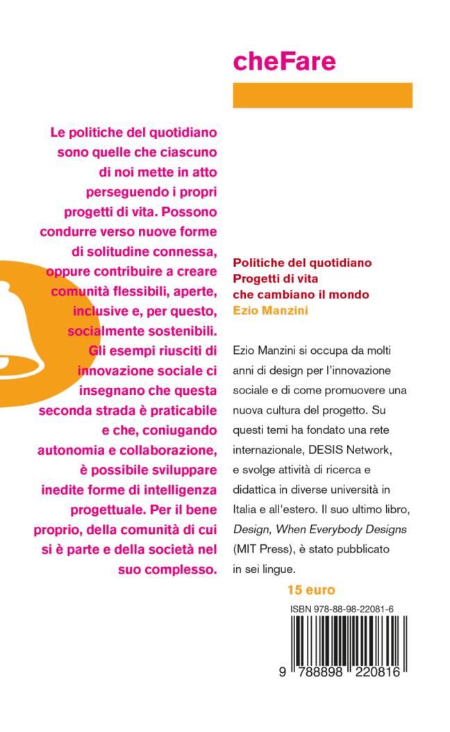Quarta – Politiche del quotidiano – Ezio Manzini