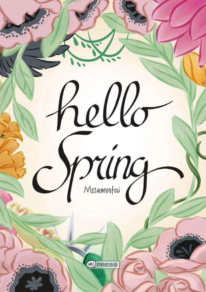 Copertina di Hello Spring, artbook che uscirà a Cartoomics 2017