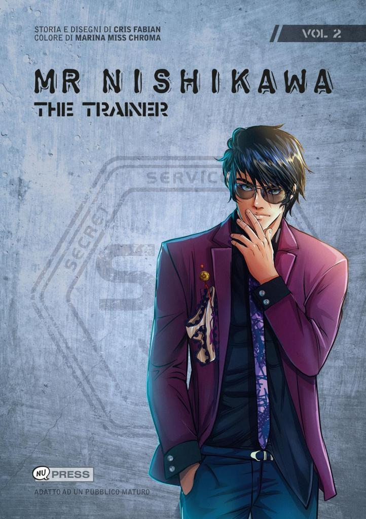 Mr Nishikawa 2 - The Trainer - Copertina del volume