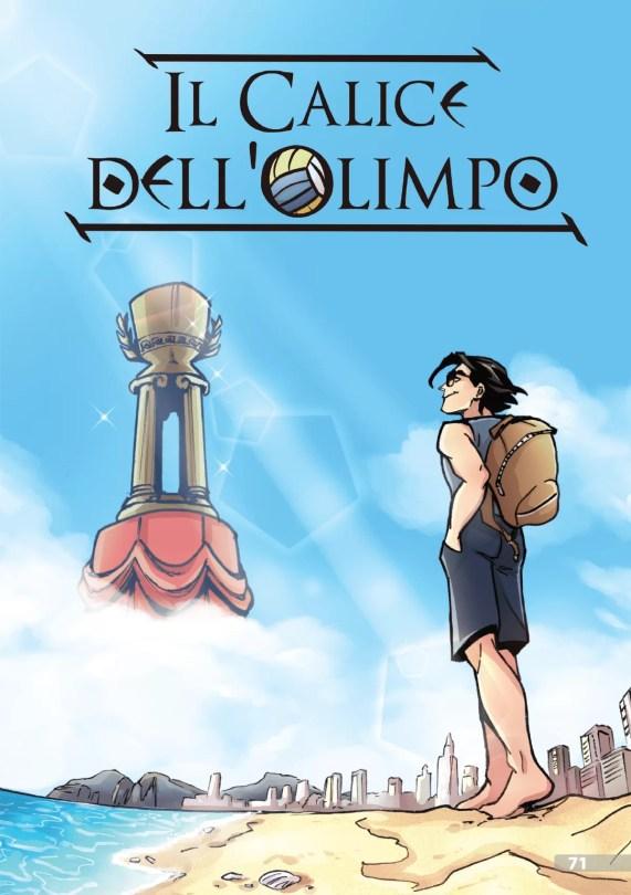 Il Calice dell'Olimpo by Fabio Vaccari, Claudia Cacace e Federica Talanca