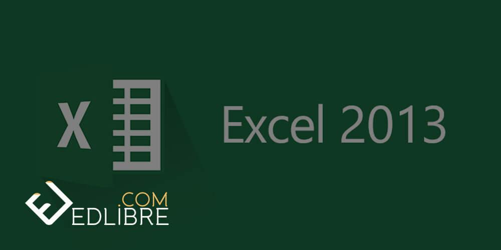 تعلم الإكسل Excel 2013 من الصفر حتى الإحتراف التعلم الحر