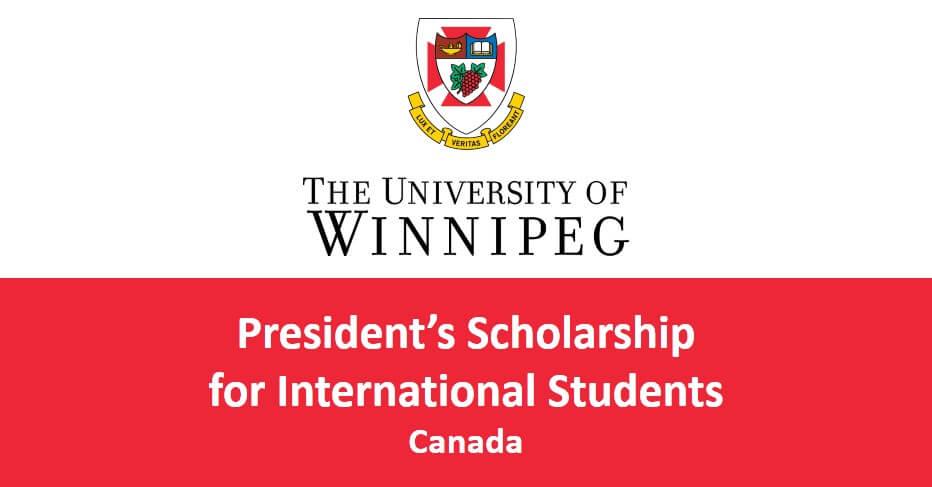 منح جامعة Winnipeg بكندا لقادة العالم 2019