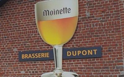 Projet Brasserie Dupont : placement de 2 portes sectionnelles