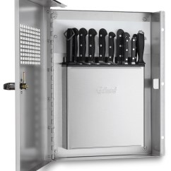 Locking Kitchen Cabinets Aid Parts Prison Knife Cabinet