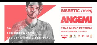 Etna Music Festival (Catania 10/08) #lafestapiualtadeuropa
