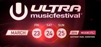 Ultra Music Festival 2018 – Vivilo con EDM Lab