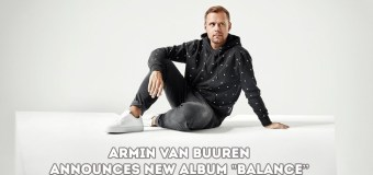 "Armin Van Buuren: the 7th album, ""Balance"", is on the way."