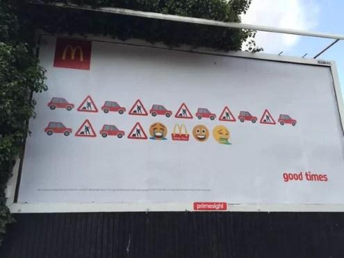 Emoji McDonalds