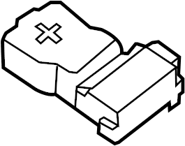 Nissan Cube Battery Terminal Protector. Cover Connector