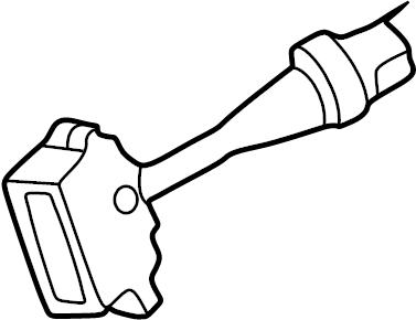 Nissan 240SX Windshield Wiper Switch. FITTING, INSTRUMENT