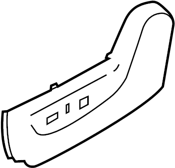 Nissan Quest Seat Frame Trim Panel (Front). HEATER, POWER