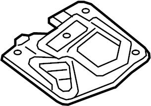 Nissan Pathfinder Radio Speaker Bracket. BOSE, PACKAGE
