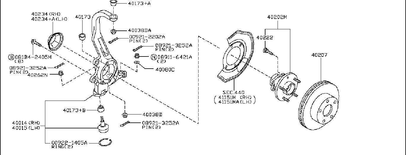 Nissan 350Z Brake Rotor Value ADVANTAGE. (Front). MON