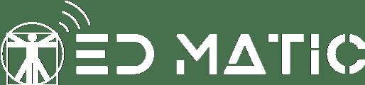 Logo Edmatic bianco