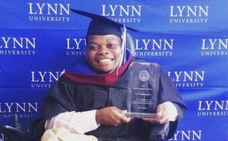 Energy Maburutse graduated from Lynn University in May 2015.