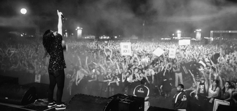 Skrillex At Decadence AZ