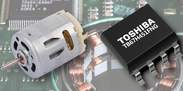 Nuovo driver per motori in CC con spazzole dalla Toshiba