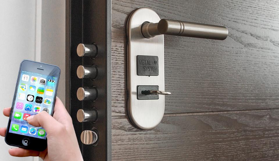La serratura intelligente: sempre più utilizzata.