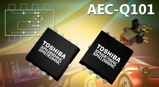 MOSFET a canale N compatti a bassa resistenza di ON per automotive di Toshiba