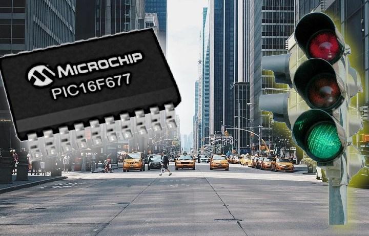 Semaforo a Microcontrollore con il linguaggio Ladder
