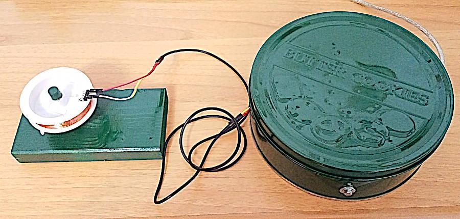 Scatole di metallo di biscotti per montaggi ad alta frequenza