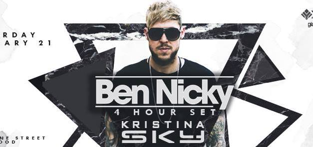 Ben Nicky & Kristina Sky @ Avalon Hollywood || Preview & Giveaway