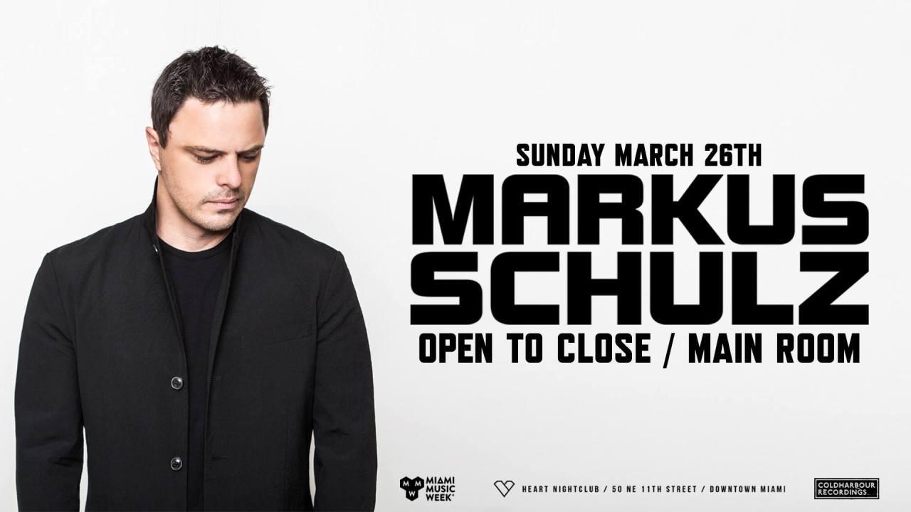 Markus Schulz OTC @ Heart Nightclub || Event Preview & Giveaway