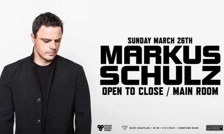 Markus Schulz OTC @ Heart Nightclub    Event Preview & Giveaway