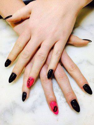 Chantalylace Nails Scuplted Gel Edmonton Ab St Albet