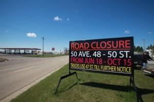 Edmonton Construction Signs